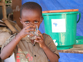 SWN and SWCEA provide ceramic filters that create safe drinking water for people living in Tanzania.