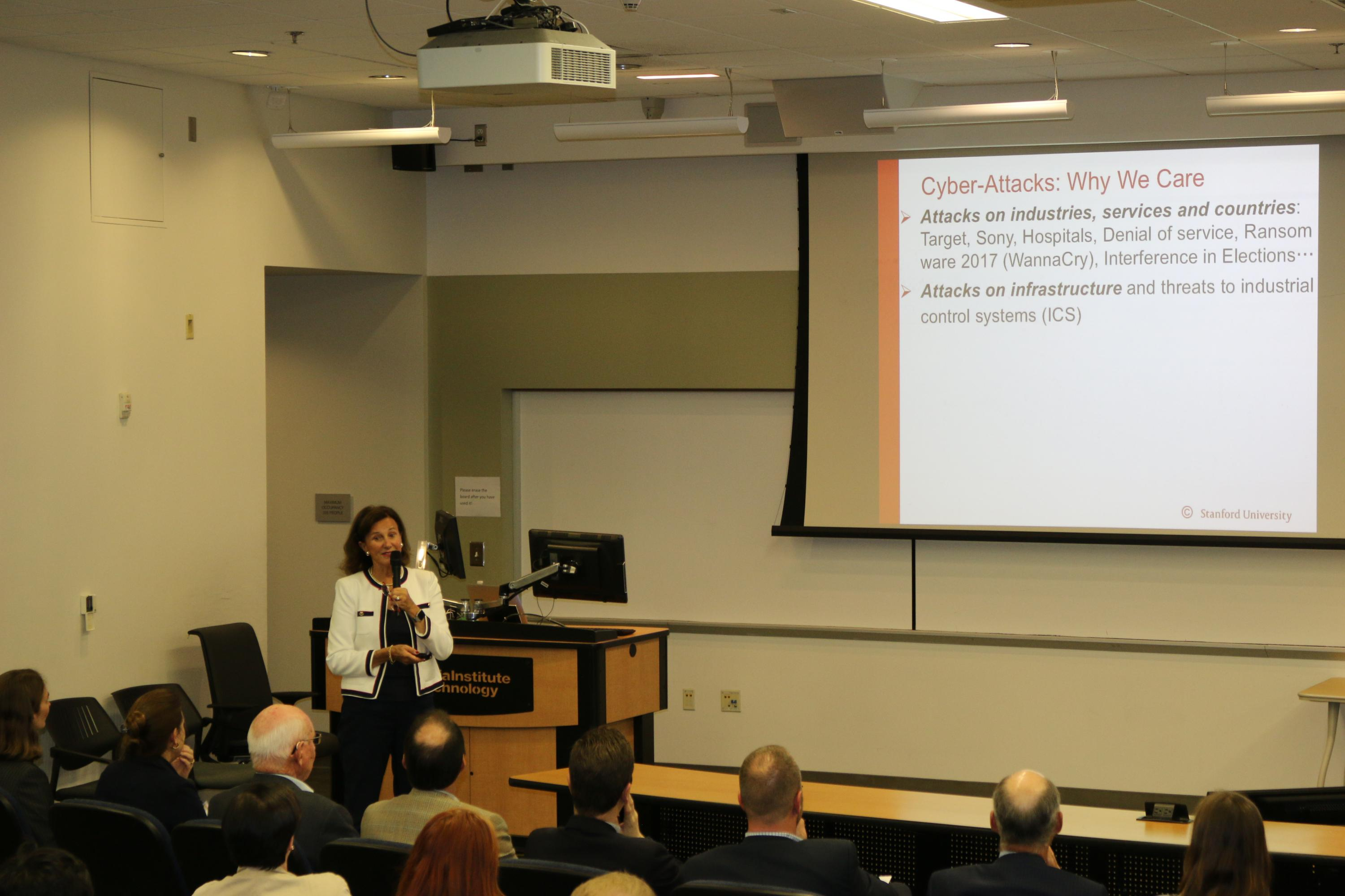 isye distinguished lecture series named  leeann  walter muller presents stanfords