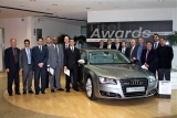 2011 EMIL Class visits Audi in Ingolstadt, Germany, during its second residence