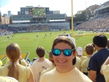 Connor at a Georgia Tech football game