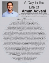 A Day in the Life of Aman Advani