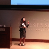 Nishi Anand speaking at IIE Student Paper Compeition