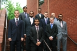 Spring 2010 Design Team Winners (from left to right, back row): Anish Bhatt, Zoheb Virani, and Alex Shapiro (middle row): Ryan Smith, Rathin Ramesh, Ian Yancey, and Nik Reddy( front row): Nupur Patel and Justin Chmielews