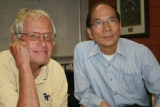 George Nemhauser, A. Russell Chandler lll Chair and Institute Professor, and Jeff Wu,Coca-Cola Chair in Engineering Statistics and Professor