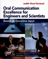 "Norback Releases New, Free Book, ""Oral Communication Excellence for Engineers and Scientists"""