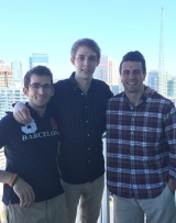 LBA Team Members: Mason Dimarco (Chief Technology Officer), Chris Mast (CEO and founder), and Matt Creatore (Chief Revenue Officer)