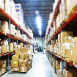 Medical supplies in the MedShare warehouse in Decatur, GA (Courtesy MedShare).