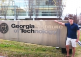 Michael Ehmann on the Georgia Tech campus.