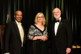 Michelle Jarrard, IE 1989, received The Academy of Distinguished Engineering Alumni Award