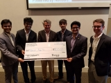 1st Place Winners: Team Na'Vi: Harshit Amya, Rishi Bhatia, Arjun Mishra, and Vyom Vats