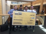 Team O-Mazing, winners of the Krannert Walmart Data Dive Competition