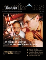 Winter 2010 issue of Research Horizons features ISyE faculty
