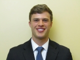 Harrison Butker, ISyE senior and Yellow Jackets kicker (photo credit: Georgia Tech Athletics)