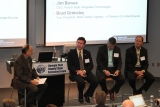 John Bartholdi moderated the panel on improving warehouse productivity without investment.