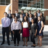 High school students who worked on the iSyE project during the Summer Engineering Institute
