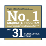 No. 1 Graduate Program for 31 Years
