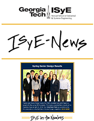 June-July 2016 ISyE Enews