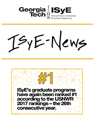March 2016 ISyE-Newsletter