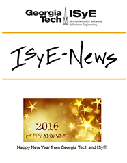 January 2016 ISyE-Newsletter