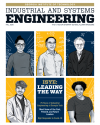 2020 ISyE magazine Cover - ISyE: Leading the Way