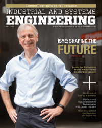 2019 ISyE magazine Cover - ISyE Shaping the future