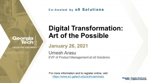 SCL IRC Seminar: Art of the Possible