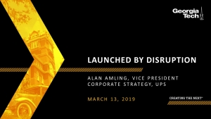 SCLIRC Seminar: Launched by Disruption