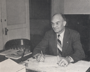In 1946, Colonel Frank Groseclose became the first director of the department of industrial engineering at Georgia Tech.
