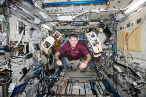 Shane Kimbrough in space