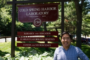 Chow at Cold Spring Harbor Laboratory