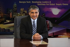 Amar Ramudhin, director of Supply Chain Management and Technology at the Georgia Tech Supply Chain & Logistics Institute