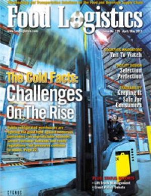 April/May issue of Food Logistics