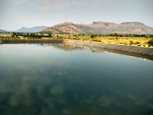 An Avana pond in Jalgaon Maharashtra