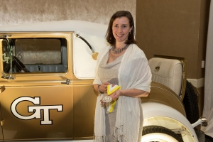 ISyE alumna Annie Walker at the Gold and White Gala