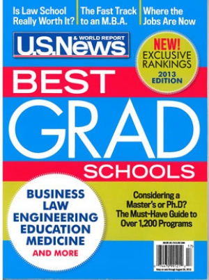 2013 U.S. News & World Report: ISyE Graduate Program Maintains Top Ranking