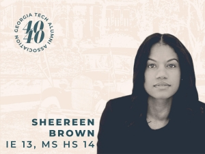 Sheereen Brown, IE 13, MS HS 14