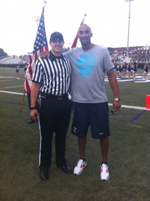 Burrell is currently the youngest college football official in the United States.