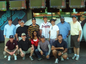 2011 EMIL-SCS class takes break from intensity of classroom to enjoy a Braves game.