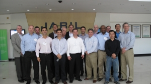 Class picture taken at Jabil Circuits in Guangzhou, China