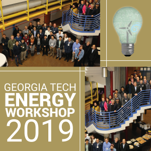 Participants in the Third Georgia Tech Workshop on Energy Systems and Optimization