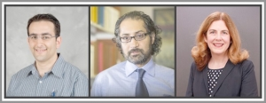 Researchers Turgay Ayer, Jagpreet Chhatwal, and Anne Spaulding collaborate on the elimination of hepatitis C