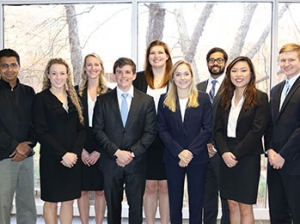 The Emory Surgical Senior Design team, which was one of the five ISyE finalists of the ISyE Senior Design competition.