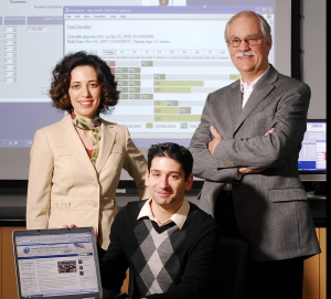 (From left to right) Pinar Keskinocak, Faramroze Engineer, and Larry Pickering