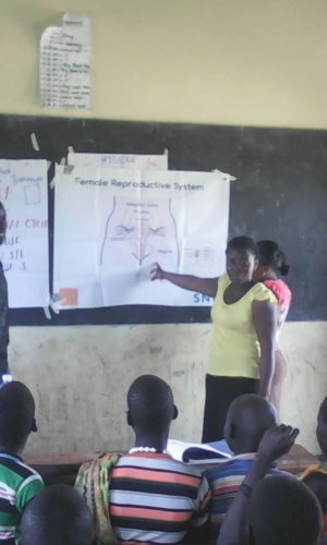 Days for Girls educating young women on menstruation and hygiene
