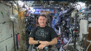 Shane Kimbrough on ISS