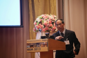 Jeff Wu at the IEEE International Conference