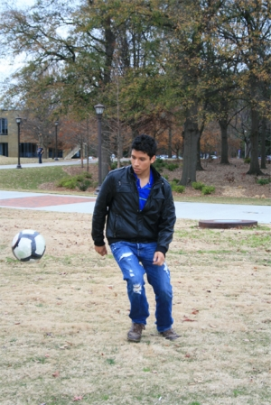Jose has been playing soccer since he was a child.