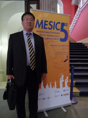 Shi at the 2013 MESIC Conference