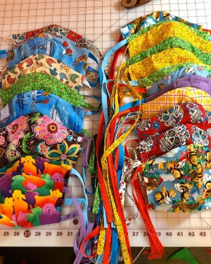 Sewing Masks for Area Hospitals