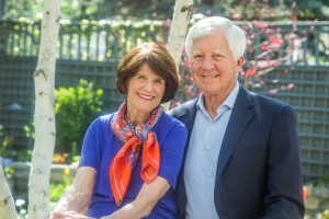 Penny and Bill George